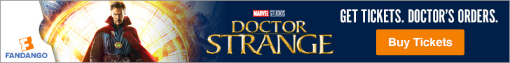 Dr. Strange Movie Tickets