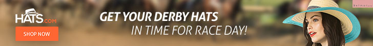 10% off Derby Hats! Use code DERBY2018 at checkout.