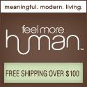 FeelMoreHuman - 125x125 Links to home decor page