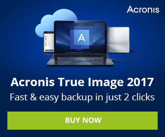 Try the Acronis True Image 2017 New Generation for Free