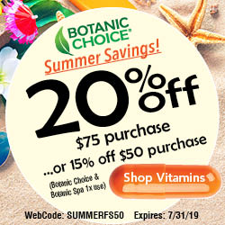 Botanic Choice Vitamins and Herbs