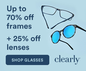 Up to 70% Frames + 25% off Lens Upgrades