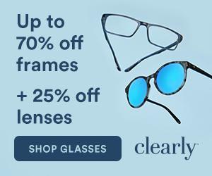Up to 70% Frames + 25% off Lens Upgrades