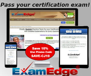 Exam Edge - Save 10%!
