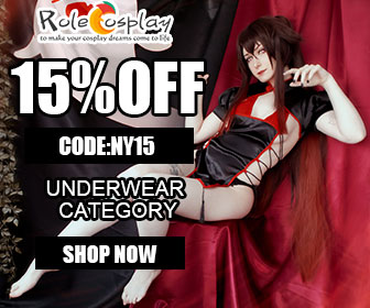 RoleCosplay.com Save 15% OFF our Underwear collection