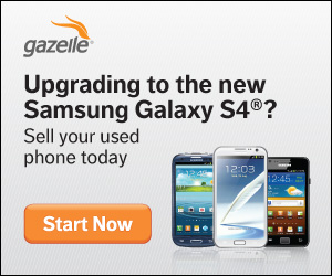 Upgrade to the Galaxy S4!