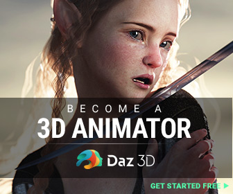 Become a 3d animator with DAZ 3D