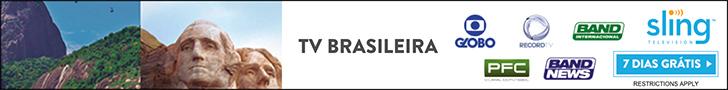 Brazilian TV on Sling TV