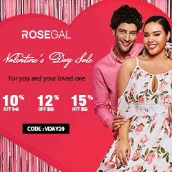 15% Off Valentine's Day Sale! For you and your love one.