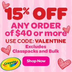 15% Off $40+ with VALENTINE