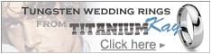 Tungsten Men's Fashion Ring