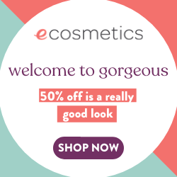 Get up to 50% off your favourite products at eCosmetics