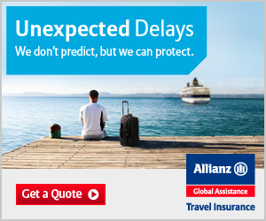 Cruise insurance quote with Allianz travel insurance