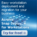 Acronis Snap Deploy 3 for PCs