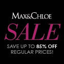 Save up to 85% OFF at Max & Chloe