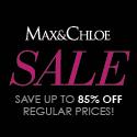 Save up to 85% OFF at Max & Chloe