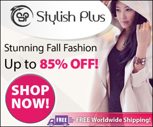 Save on shipping worldwide for a limited time only at StylishPlus.com!  Get FREE worldwide shipping