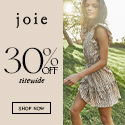 Shop Joie's for 30% Off Sitewide