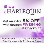 Get something FREE every FRIDAY @ eHarlequin!