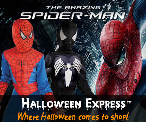 Costumes from Halloween Express