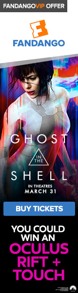 Fandango - Ghost in the Shell Sweepstakes