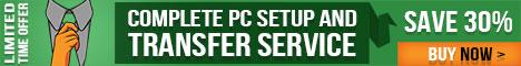 Set up your new PC hands free with Laplink's Concierge service. Save 30% until 6/30/14