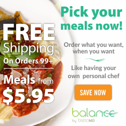 Balance Free Shipping on Orders $99+