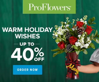 - ProFlowers promo code 2017Up to 40% off Holiday Flowers & Gifts at ProFlowers