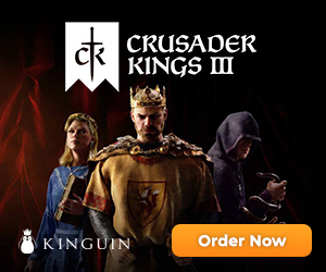 KINGUIN - ?? Crusader Kings III is out NOW! Get it cheaper – 300×250