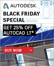 Get 25% off on AutoCAD LT Subscription