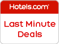 Last Minute Deals at hotels.com!