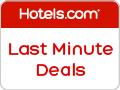 Last Minute Deals at hotels.com!