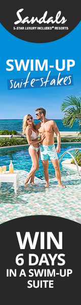 SANDALS Resorts - Swim-Up to Sandals Suite-Stakes!