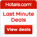 Hotels.com last minute deals