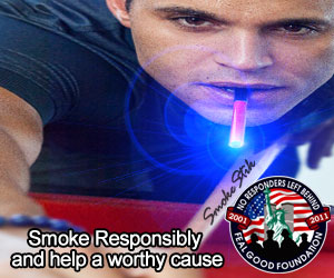 Smoke Responsibly and help a worthy cause