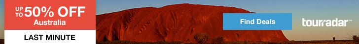 Tourradar - Australia Tour deals