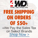 Free Shipping on Orders of $50+ Plus We Pay the Sales Tax on Select Brands. Shop Now at 4WD.com!