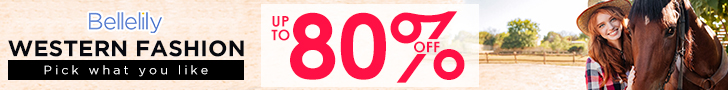 Up To 80% Off for Selected Western Fashion