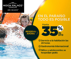 Vacaciones con Todo Incluido en Moon Palace Cancun.