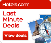 Last Minute Deals from hotels.com!
