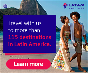 LAN Airlines flights to South America