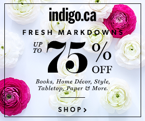 Fresh Markdowns: up to 75% off books, home decor, style, paper & more