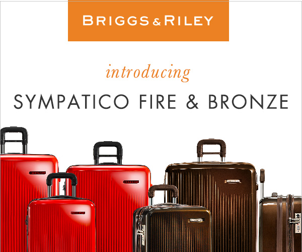Briggs & Riley Sympatico Collection New Colors