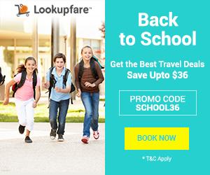Back to School flight deals, lookupfare