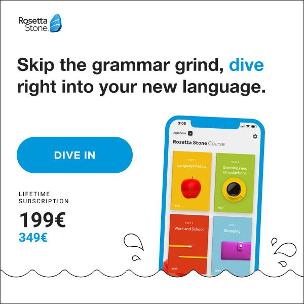 Rosetta Stone Lifetime access to 24 languages