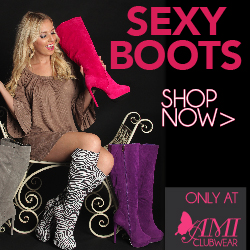 Shop AMIclubwear.com for great deals on sexy boots.
