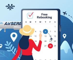 Air Serbia starting 23 EUR