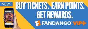 Fandango VIP+ Loyalty Program