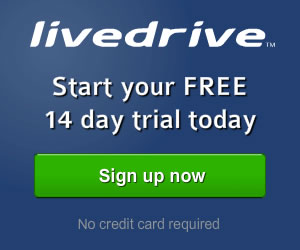 Livedrive Simple, Secure Online Backup