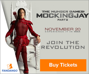 Mockingjay Part 2 Tickets